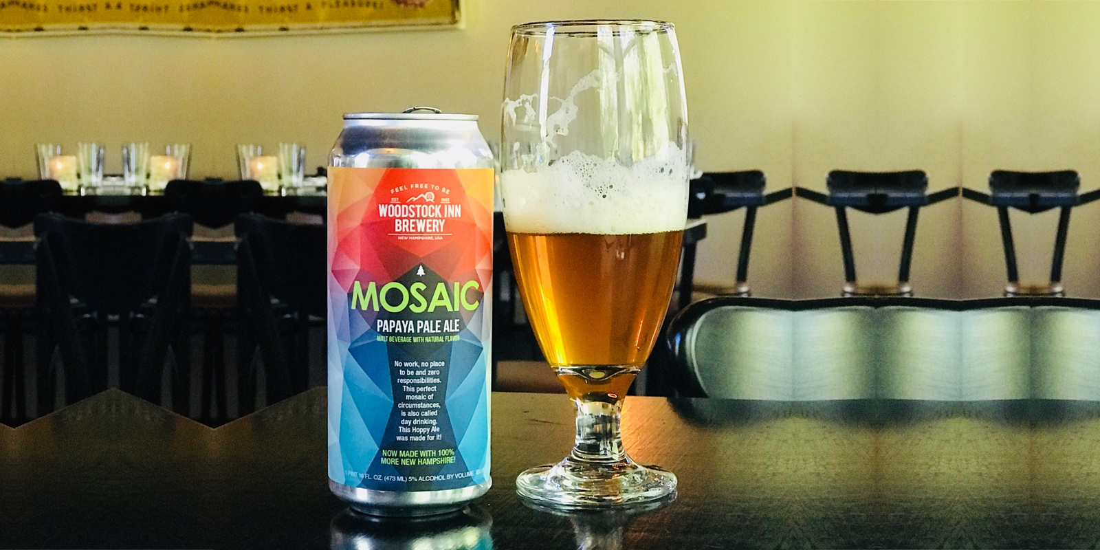 The Curious Benefits of Mosaic Papaya Pale Ale