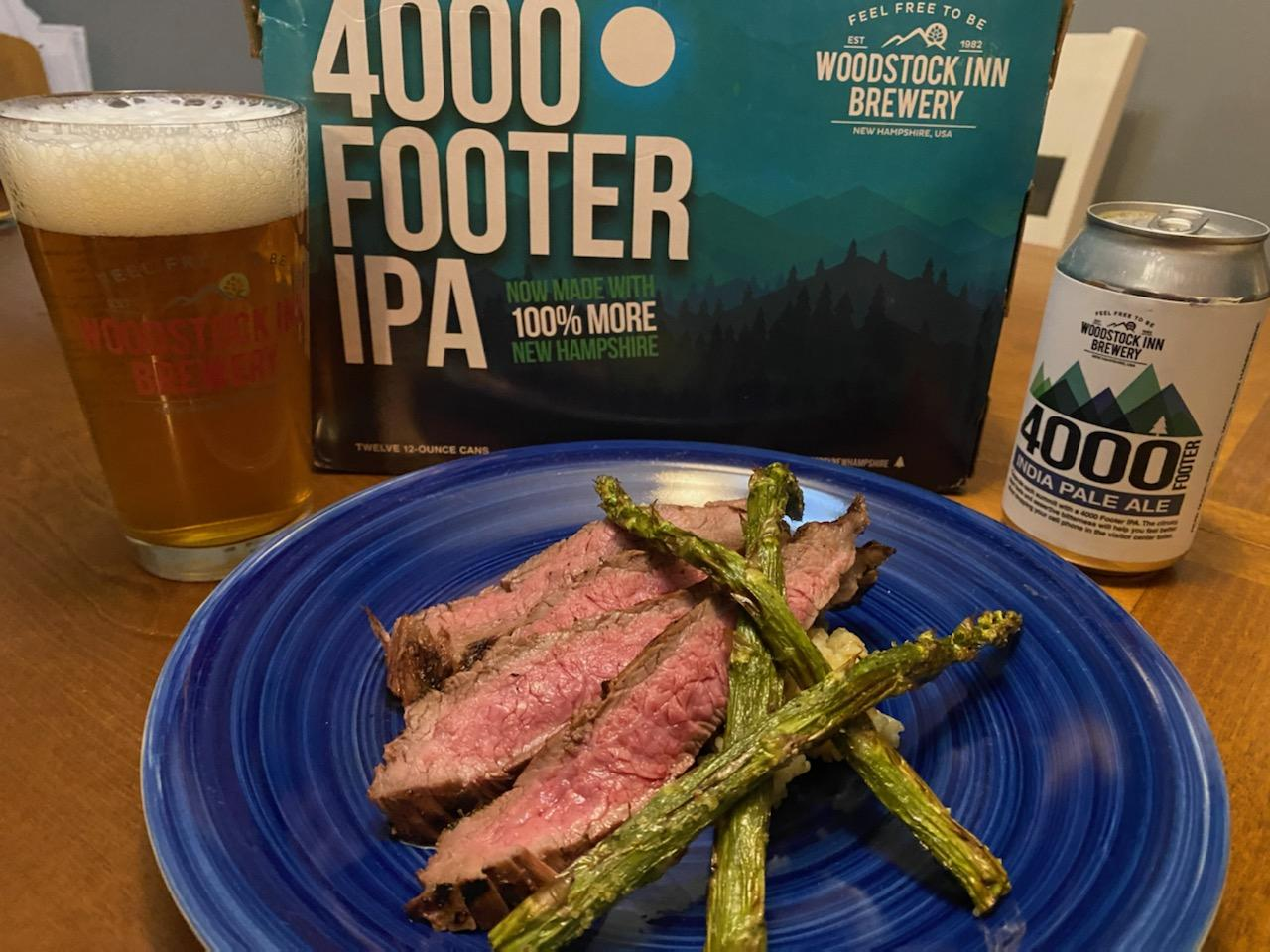 4000 Footer IPA Steak Marinade