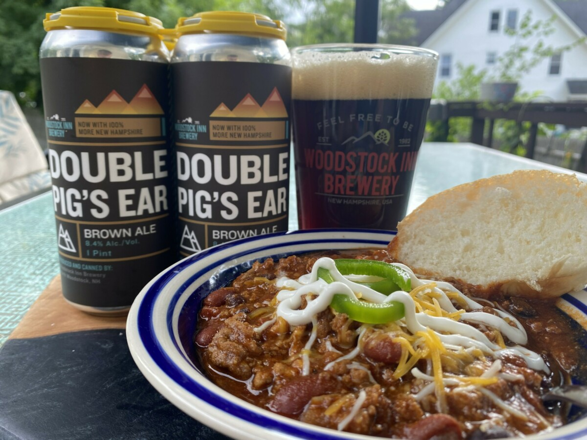 Double Pig's Ear Brown Ale Chili